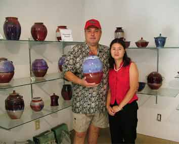 Robert and Xiaolan, November 2006