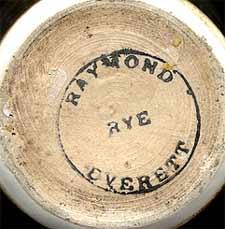 Raymond Everett pot (mark)
