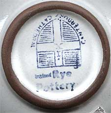 Rye dish - Canterbury (mark)