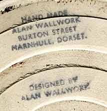 Wallwork circular tile (mark)