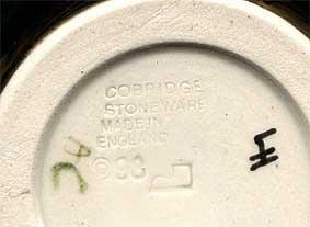Cobridge Gull Rock vase (mark)