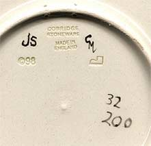 Cobridge Sneyd Colliery plate (mark)