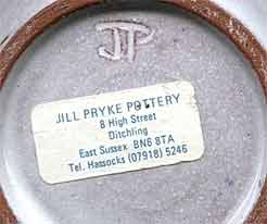 Jill Pryke jug (mark)