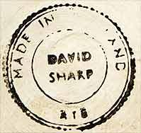 David Sharp covered pot (mark)