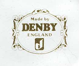 Denby souvenir mugs (mark)