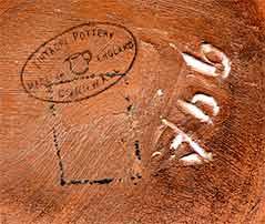Old Tintagel dish (mark)