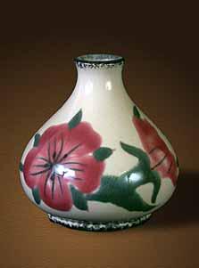 Cobridge Corn Cockle vase
