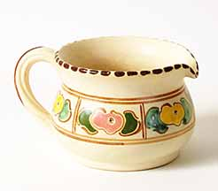 Honiton jug with floral design