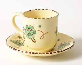 Honiton cup and saucer