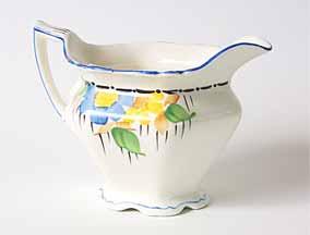 Britannia milk jug (from group)