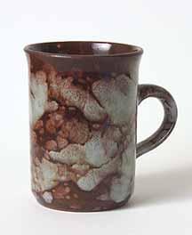 Brown Ewenny mug