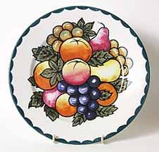 Britannia decorated plate