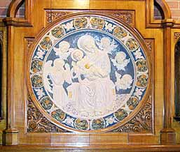 Della Robbia plaque