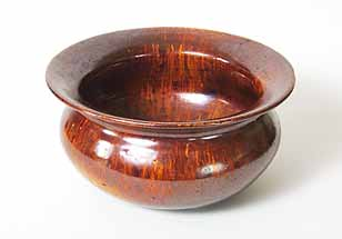 Brown bowl with nice glaze