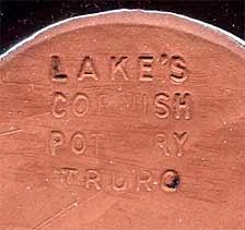 Blue Lake's dish (mark)