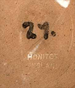 Honiton barrel jug (mark)