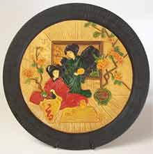 Bretby wall plate - 2