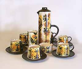 Celtic coffee set