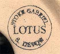 Lotus lamp base (mark)