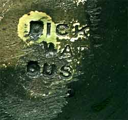 Green Dicker bowl (mark)