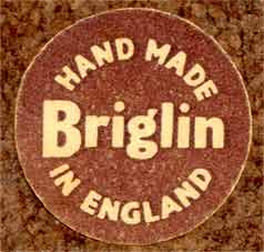 Alan Wallwork Briglin tile (label)