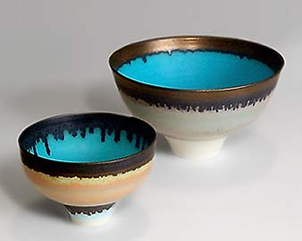 Two Peter Wills bowls
