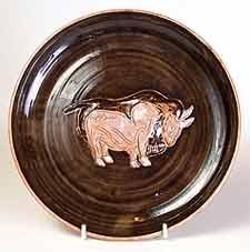 Wold bull dish