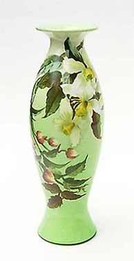 Doulton faience vase