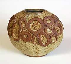Round Rooke vase