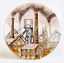 Cobridge Sneyd Colliery plate
