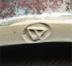 Large Dartington jug (mark)