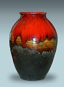 Leaper vase