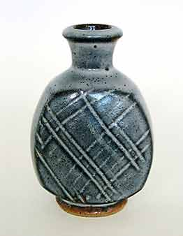 John Leach bottle vase