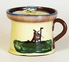 Torquay mustard pot