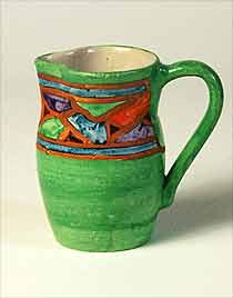 Green Joyous jug