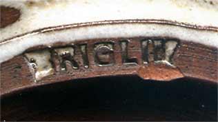Briglin fern jar (mark)
