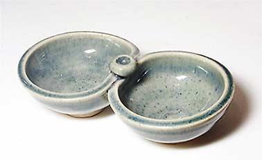 John Vasey double dish
