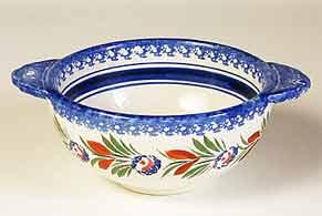 Modern Quimper bowl