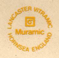 Hornsea Muramic dish (mark)
