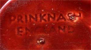 Prinknash double-dish (mark)