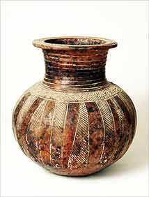 Nigerian village pot