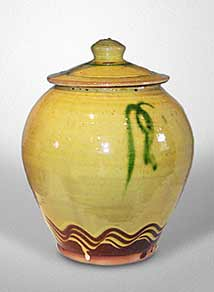 Bowen lidded jar
