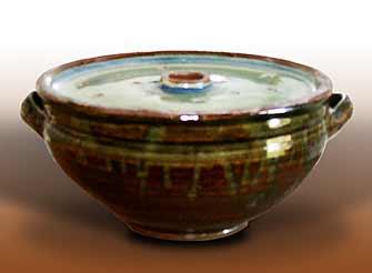 Handled Seth Cardew bowl