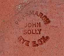 Handled Solly dish (mark)