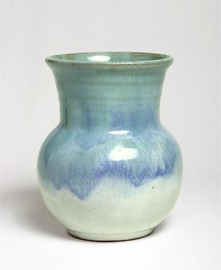 Blue Saunders vase