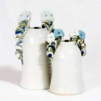 Pair of Jane Hamlyn pots