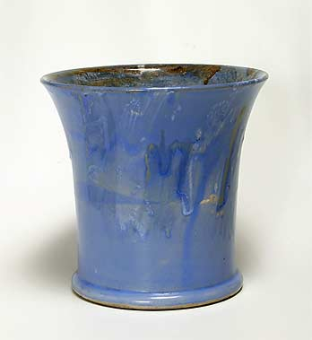 Blue Salopian vase