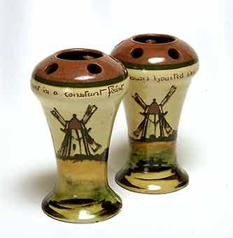 Pair of Crown Dorset vases