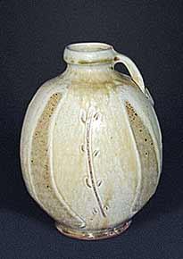 Dodd handled flattened vase