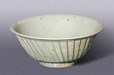 Richard Brooks fluted bowl